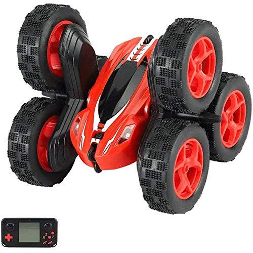 WANGCH 2.4G Wireless 6 Tire RC Car 1:24 Scale Tumbling Stunt Control Remoto Car 360 ° Dancing Off-Road RC Vehicle Recargable Juguete para niños Regalos de año Nuevo para niños y niñas