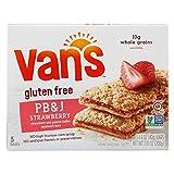 Van's, PB&J Strawberry and Peanut Butter Sandwich Bars, 5 Count