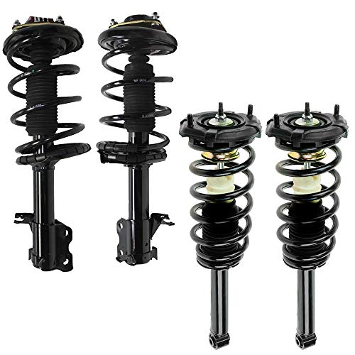 Detroit Axle - All (4) Front & Rear Complete Strut & Spring Assembly Replacement for 2000-2001 Nissan Maxima & Infiniti i30-4pc Set