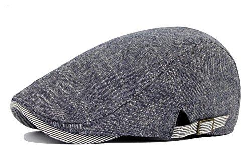 Drawihi Beret, Sonnenhut, Mütze, Schiebermütze, Kappe, Fahrermütze, Blau