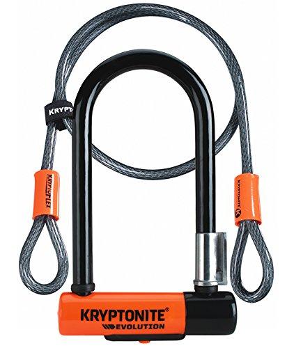 KRYPTONITE(クリプトナイト) Evolution Mini-7 U字ロック&120cmフレックスケーブル [並行輸入品]