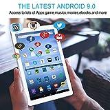 Tablette Tactile 10 Pouces IPS/HD 4Go RAM 64Go ROM 4G Android 9.0 Certifié par Google GMS Tablet PC...
