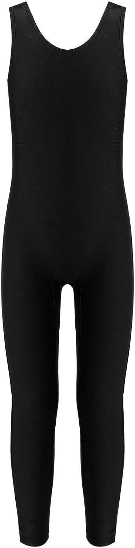 Hansber Kids Girls online shopping Tank Unitard Gymnastics Leotard Sleeve Ballet Direct stock discount