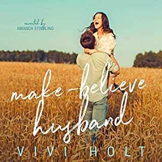Make-Believe Husband  audiobook cover art