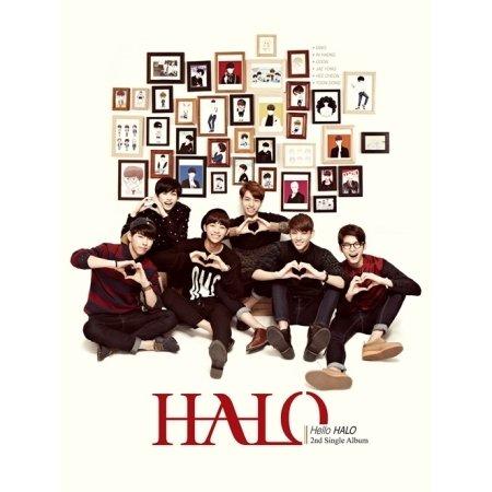 Halo 2Nd Single Album [Hello Halo](Poster ver)