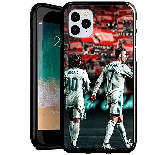 Compatible con iPhone 7/8 Funda, Carcasa con patrón Diseño Bordes en Suave TPU Silicona Híbrida Tempered Vidrio para iPhone 7/iPhone 8 (BGBH1400014)