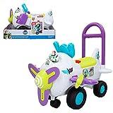 Disney - Correpasillos avión con luz y sonido Buzz Lightyear (ColorBaby 46342)