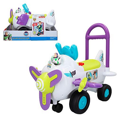 Disney Correpasillos avión con luz y sonido Buzz Lightyear (Colorbaby 46342)