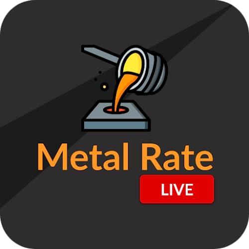 Live Metal Rate - Gold, Silver, Copper, Palladium & Platinum