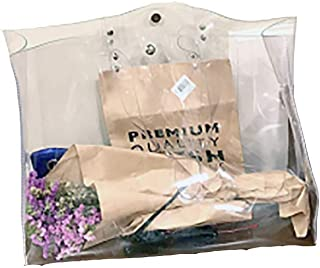 Shuny Transparente bag,Transparente Umhängetasche,Wasserdichte Tasche,Weiblich Handtasche,Kunststoff PVC Umweltfreundliche...