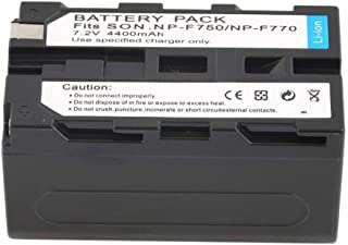 7.2V 4400MAH Replacement Li-Ion Battery Camcorder Battery for Sony NP-F750 / 770/730 Camera
