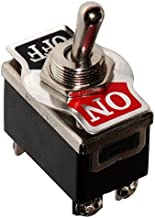 on Interruptor de palanca DPDT de 2 posiciones con bota impermeable AC 250V 15A on SODIAL R