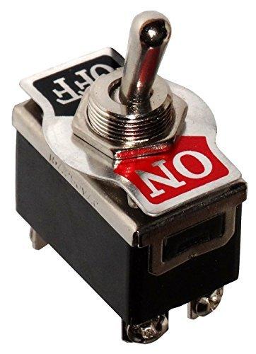 AERZETIX: Interruptor conmutador de palanca DPST ON-OFF 15A/250V, 2 posiciones C10575
