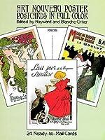 Art Nouveau Posters: 24 Cards (Dover Postcards)