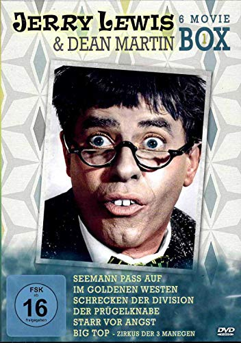 Jerry Lewis & Dean Martin Box [6 DVDs]