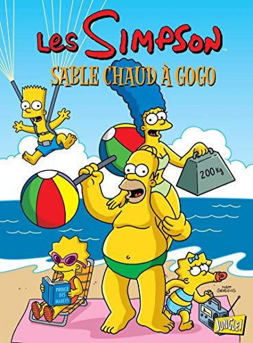 Les Simpson - tome 21 Sable chaud à gogo (21)