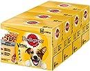 Pedigree Adult Hundenassfutter für ausgewachsene Hunde im Portionsbeutel ? verschiedene Sorten, 4 x (12 x 100g)