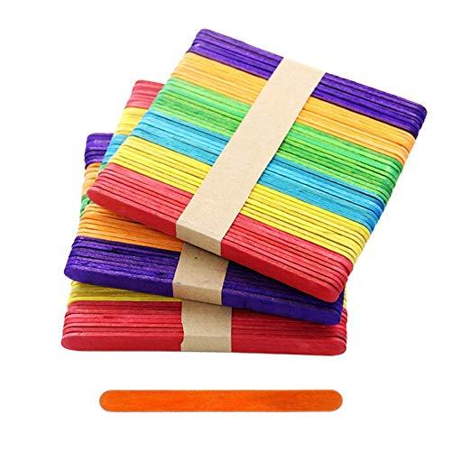 Xincsiwang Eis-Stäbchen, bunt, Puzzleteile für Kindergarten, handgefertigte Bastelmaterialien (mehrfarbig)