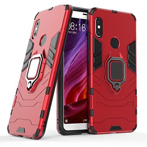 Cocomii Black Panther Ring Xiaomi Redmi Note 5/Note 5 Pro Funda, Delgado Mate Kickstand Vertical & Horizontal Agarre del Anillo Case...