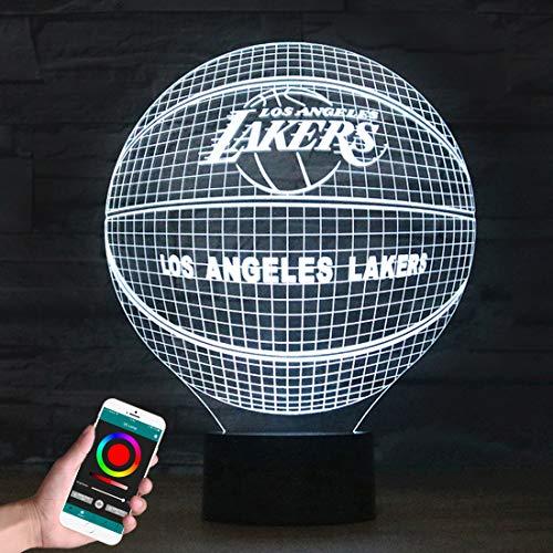 LVDOI Lámpara de Ilusión óptica 3D Aplicación del Teléfono Control Remoto Bluetooth Inteligente Luz de La Noche Decoración Halcón Milenario Lámpara de Cabecera Juguete Para Regalo de Niños