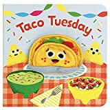 Taco Tuesday Finger Puppet Board Book, Gifts for Birthdays, Baby Showers, Little Taco Lovers, Preschoolers, and More! Ages 1-3 (Finger Puppet Book)
