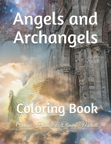 Angels and Archangels: Coloring Book