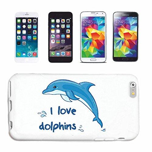 Reifen-Markt Hard Cover - Funda para teléfono móvil Compatible con Apple iPhone 6+ Plus Amo DELFÍN DELFÍN Flipper mediterráneo océano dophin