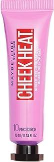 Maybelline New York Cheek Heat Likit Allık, 10 Scorch, Pembe