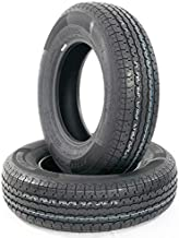 Set of 2 New ST205/75R15 Trailer Tires 8 Ply Rated 205/75R15