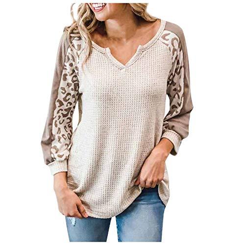 Aujelly Sweatshirt Damen Mode Top Bluse Herbst Sweater Winter Pullover Xmas Hemd...