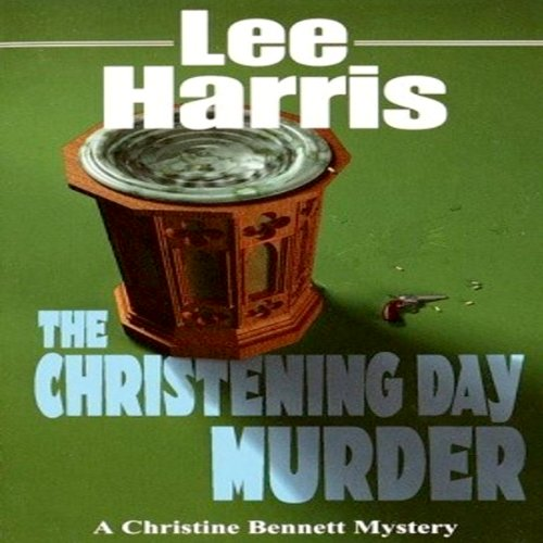 The Christening Day Murder audiobook cover art
