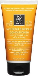 Apivita Nourish & Repair Conditioner with Olive & Honey (For Dry-Damaged Hair) 150ml/5.07oz