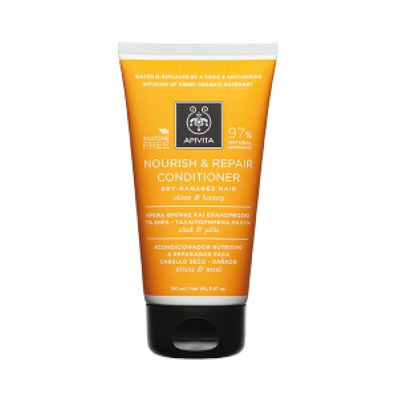 アピヴィータ Nourish & Repair Conditioner with Olive & Honey (For Dry-Damaged Hair) 150ml [並行輸入品]