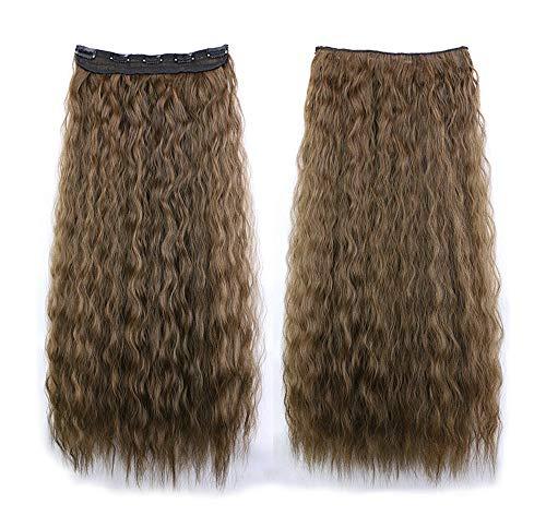Nouvelle Arrivée COUNTSTAR Mode féminine de fil de cheveux de cheveux longs bouclés de perruque de dames pour le cosplay de partie