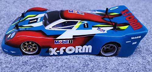 ExcelRC X-Form Body in Lexan Transparent 1/28 ( Unpainted) for Mini-Z Atomic GL Racing WL Toys
