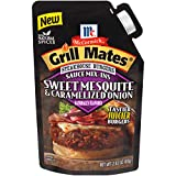 McCormick Grill Mates Sweet Mesquite & Caramelized Onion Steakhouse Burgers Sauce Mix-Ins, 2.83 oz