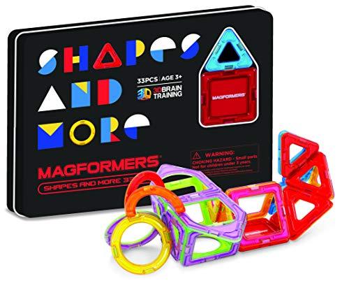 MAGFORMERS 799017 Magnetisches Spielzeug, Mehrfarbig
