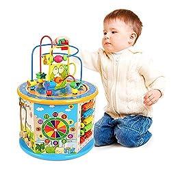 Ulmisfee Giochi Bimbi 1 Anno Educativi Giochi Legno Bambin Cubi Legno Giochi Montessori