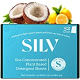 SILV Hypoallergenic Laundry Detergent Sheets Eco Friendly - Nontoxic &...