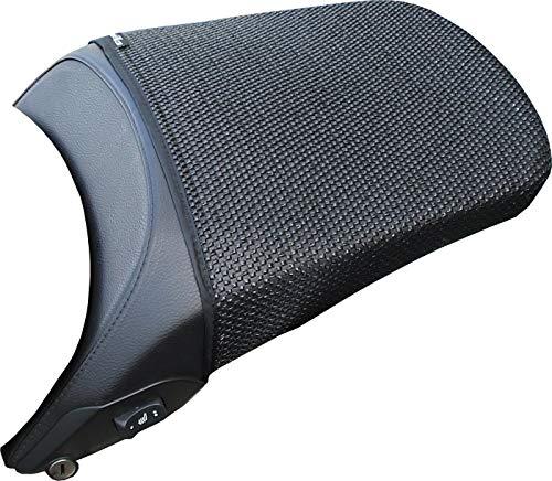Cubierta TRIBOSEAT para Asiento Antideslizante Accesorio Personalizado Negro Compatible con BMW R1200Rt (2005-2013)