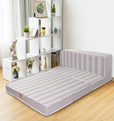 Springtek 3 Folding/Travel Mattress 4 inch Queen PU Foam Mattress(72 x 36 x 4)