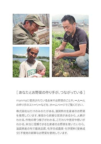 無添加・有機米・無農薬野菜のベビーフード「manma四季の離乳食」(6個セット【9か月】)