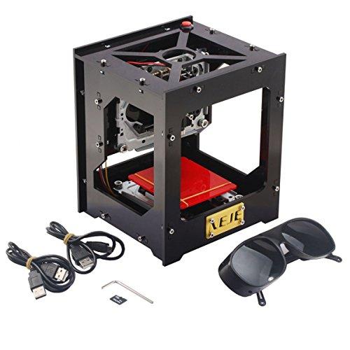 Yosoo 1000mW DIY USB Graviermaschine Gravur Maschine Betriebssystem OS: win XP,win7,win8,win10, CE Zertifikat, 145 x 160 x 190 mm