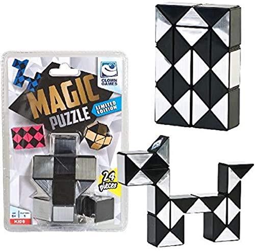 Unbekannt Clown 0896036 Magic Puzzle Silv. 24-TLG