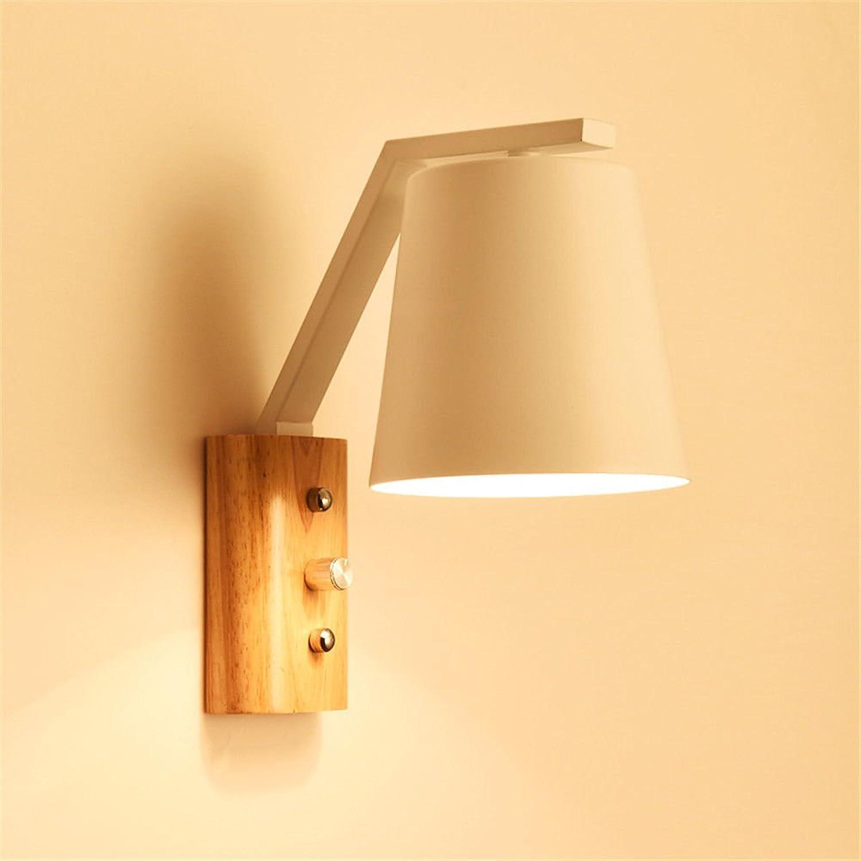 Lucky Fortress Wandleuchte Wandlampe Holzkunst kreative Wohnzimmer TV Wandlampe wei