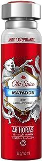 Desodorante Spray Antitranspirante Old Spice Matador 150Ml, Old Spice
