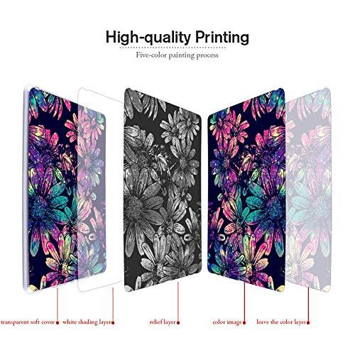 Gemalte weiche TPU-Hülle für Lenovo Tab M7 Hülle Silikon Mode Tablet Hülle für Lenovo Tab M7 2nd Gen 7.0 Blume Animal Shell-Z012_Porzellan