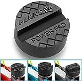 PLANGER - Power PAD flach - Wagenheber Gummiauflage für Rangierwagenheber-Universal Gummiauflage Wagenheber-Schützt Ihren PKW und SUV robustem Gummi