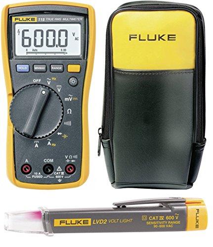 Multímetro Portátil Digital Fluke F115Free LVD2+ C90Cat III 600V pantalla (mediciones) Color 6000
