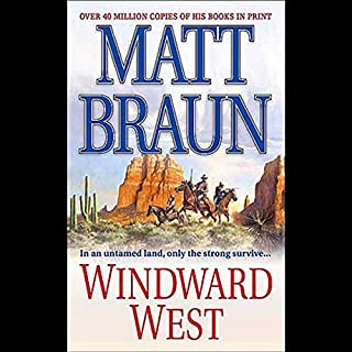 Windward West audiobook cover art